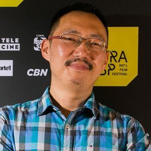 """Li Cheng, diretor, e George F. Roberson, roteirista de """"José"""""""
