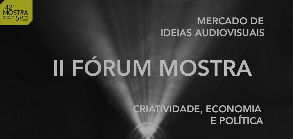Segunda edição do Fórum Mostra tem início nesta quarta (24), no Itaú Cultural