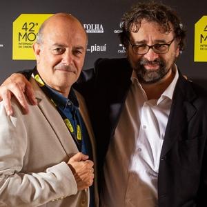 """Alexandre Valenti e Francesco Lotoro, de """"O Maestro, em Busca da Última Música"""""""