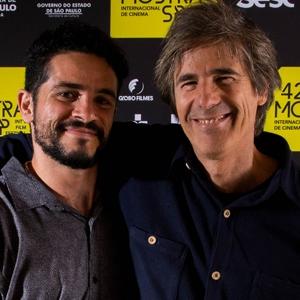 """Walter Salles e Vinícius de Oliveira, de """"Central do Brasil"""""""
