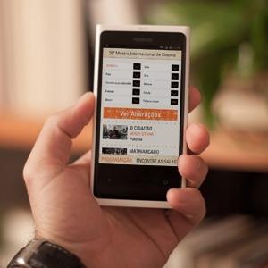 Mostra lança aplicativo para celulares com informações sobre filmes e salas