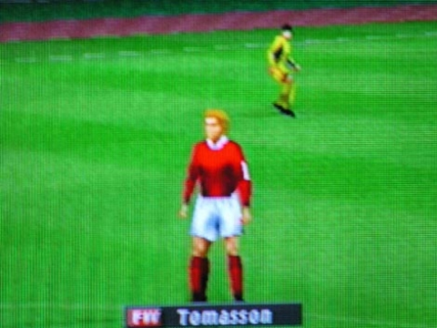 Pre Evolution Soccer`s One-Minute Dance After A Golden Goal In The Master League