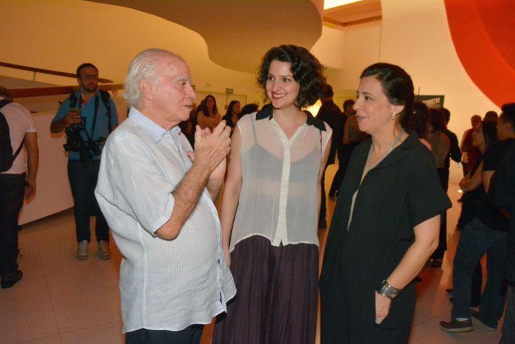 Ignácio de Loyola Brandão, Rita Gullo e Renata de Almeida