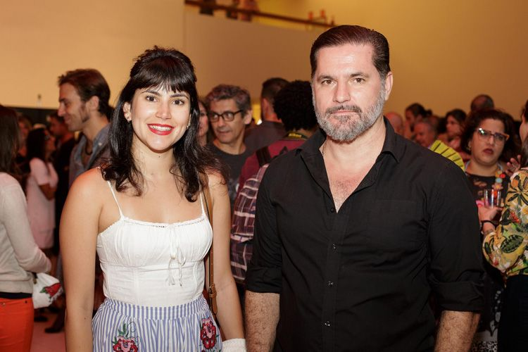 Ana Carolina Marinho (atriz) e Cristiano Burlan (cineasta)