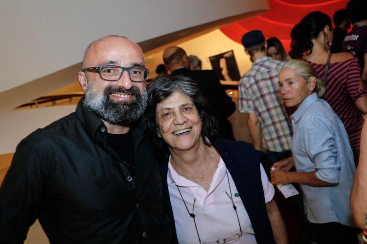 Kiko Molina (jornalista) e Sara Silveira (produtora)