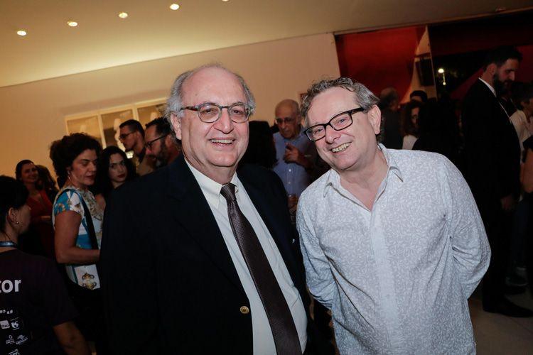 Mário Mazzilli (Diretor Superintendente do Instituto CPFL) e Jurandir Muller (cineasta)