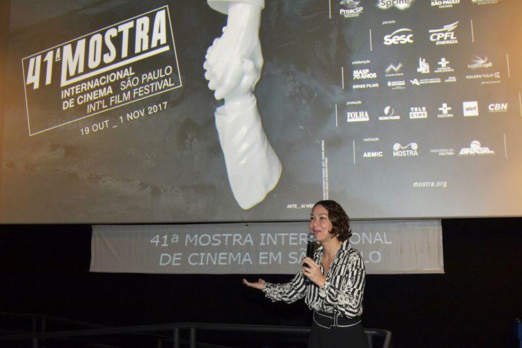 Espaço Itaú de Cinema – Frei Caneca 3 / Catalina Mesa, diretora do filme Jericó, o Infinito Voo dos Dias, presente na sessão do filme