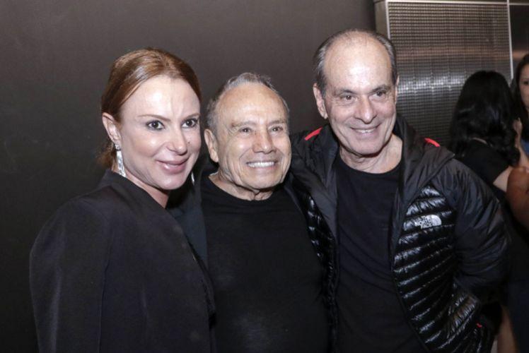 Espaço Itaú de Cinema - Augusta 1 / Marilene Saade, Stênio Garcia e Ney Matogrosso (atores) na sessão do filme Beijo no Asfalto, de Murilo Benício