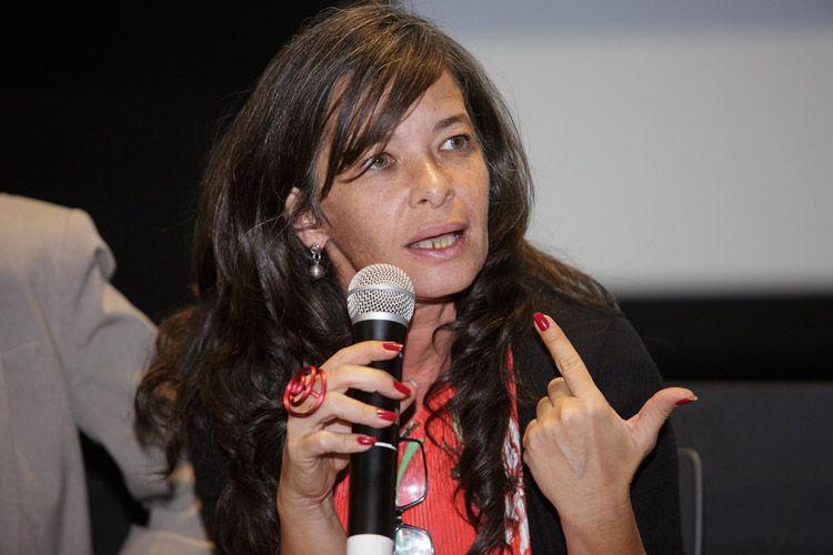 Cinesesc / Debate sobre acessibilidade após a sessão do filme Esplendor, de Naomi Kawase. Carla Mauch (Coordenadora Geral da OSCIP Mais Diferença)