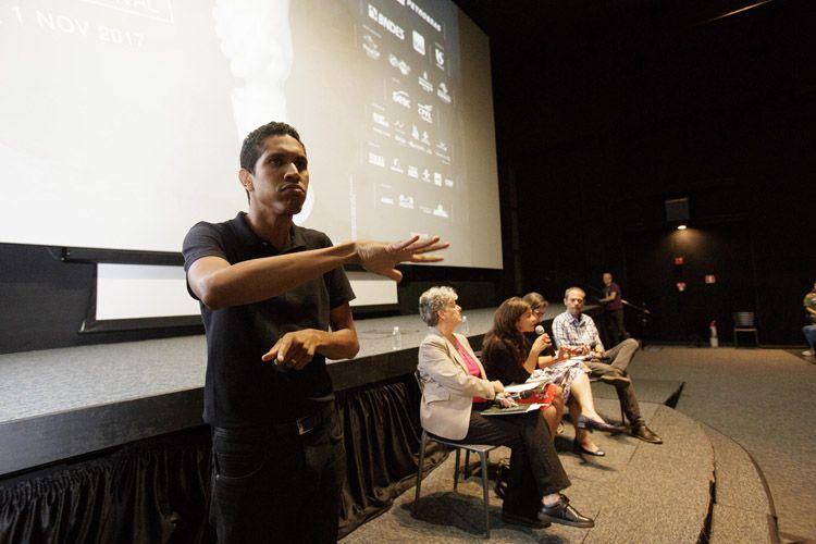 Cinesesc / Debate sobre acessibilidade após a sessão do filme Esplendor, de Naomi Kawase.