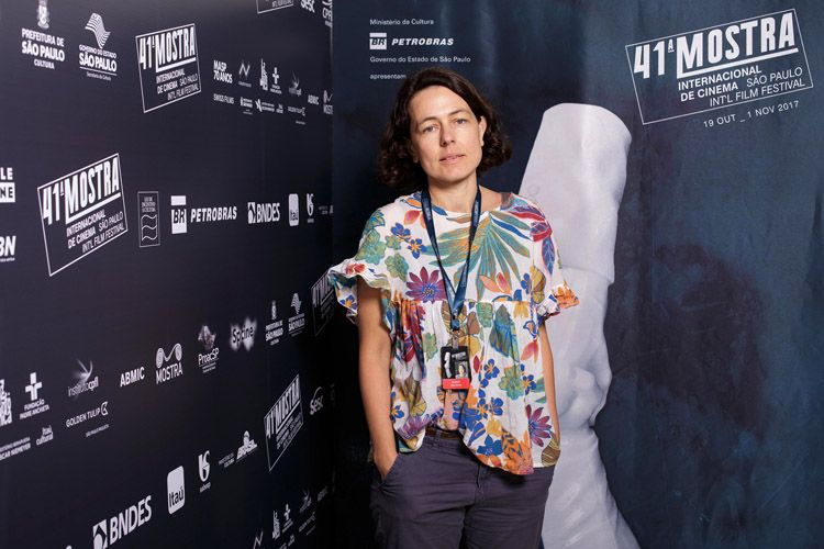 Anja Wedell, produtora do filme Bikini Moon
