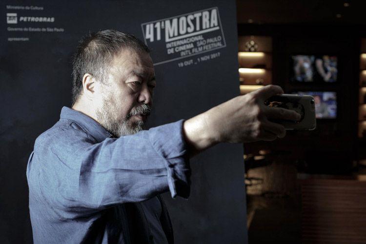 Ai Weiwei, homenageado nesta edição da Mostra e diretor do filme Human Flow