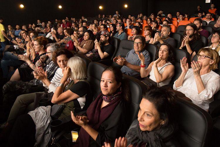Espaço Itaú de Cinema – Augusta 1 /Público na sessão do filme Saudade, de  Paulo Caldas