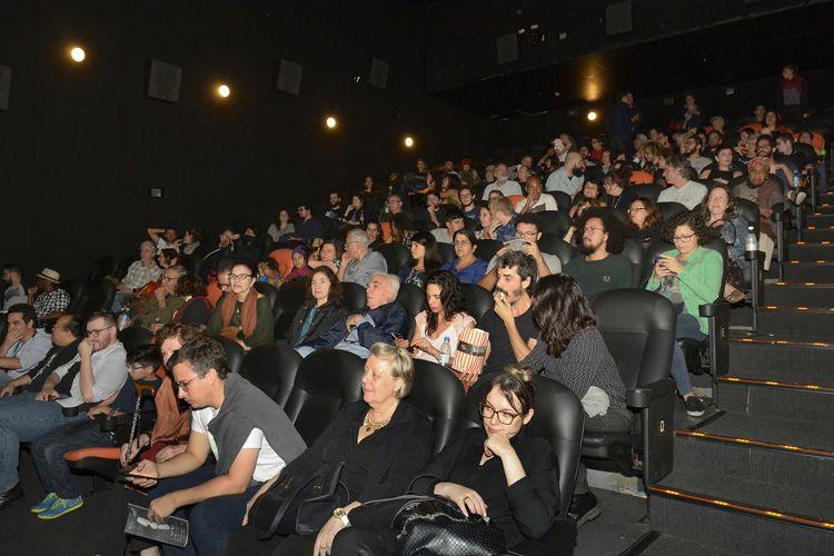 Espaço Itaú de Cinema - Frei Caneca 2 / Público na sessão do filme Slam: Voz de Levante, de Roberta Estrela D`Alva e Tatiana Lohmann