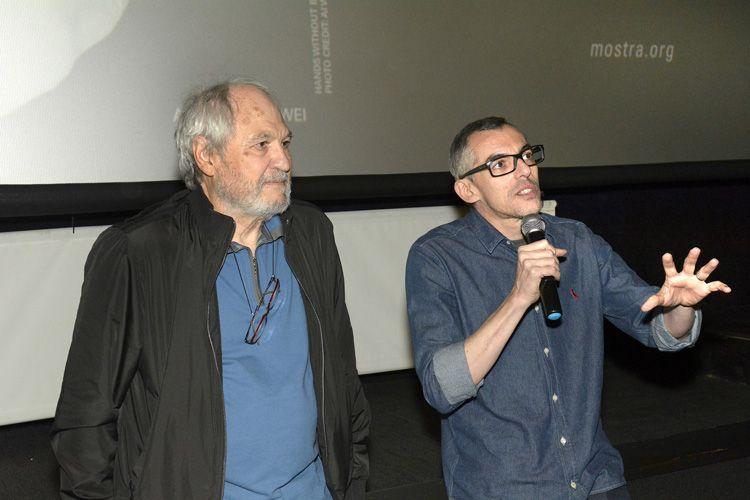 Espaço Itaú de Cinema - Frei Caneca 1 / O diretor Jeremias Moreira e o produtor Roberto D`Avila apresentam seu filme Querida Mamãe