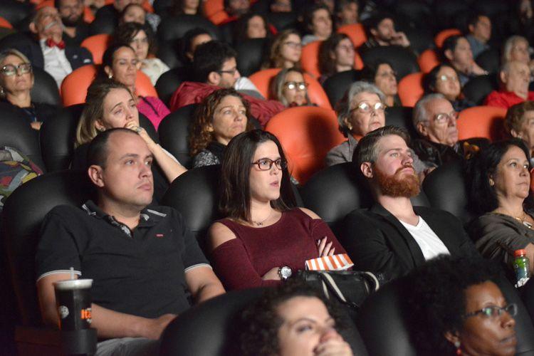 Espaço Itaú de Cinema - Frei Caneca 1 / Público na sessão do filme Querida Mamãe, de Jeremias Moreira