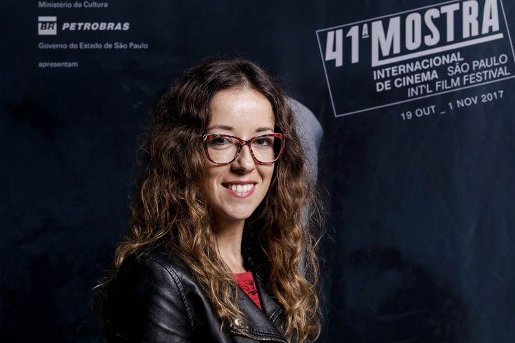 Andrea Camponovo, atriz e produtora do filme Eugenia