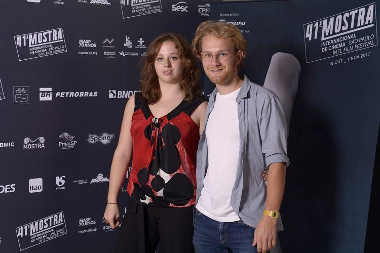 Beatrice Segolini e Maximilian Schlehuber, diretora e codiretor do filme As Boas Intenções