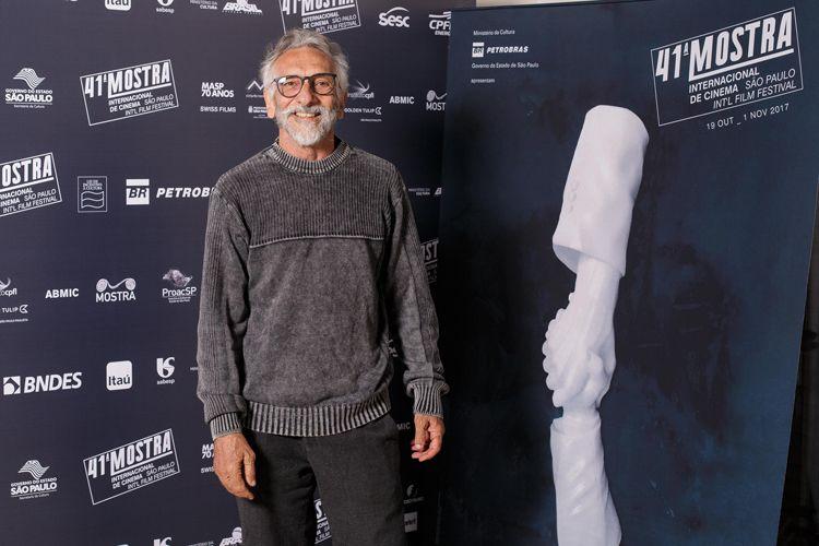 Edgar Navarro, diretor do filme Abaixo a Gravidade