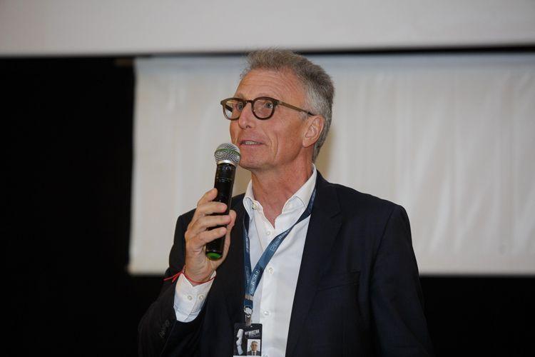 Cine Caixa Belas Artes 2 / Homenagem a Alain Tanner – Entrega do Prêmio Leon Cakoff / Claudio Leoncavallo, Cônsul Geral da Suíça