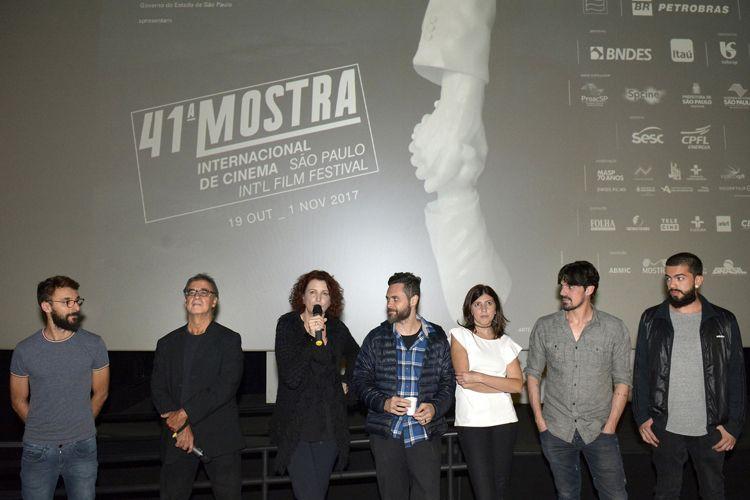 Espaço Itaú de Cinema - Frei Caneca 2 / Emília Silveira, diretora de Callado, e a equipe do filme, presentes na sessão