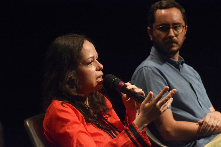 Instituto Itaú Cultural – I Fórum Mostra-Folha – Rumos do Cinema e do Audiovisual / Mesa 3 - A Crítica de Cinema na Era Virtual – Andrea Ormont (crítica independente) e Marcelo Hessel (crítico do Omelete)