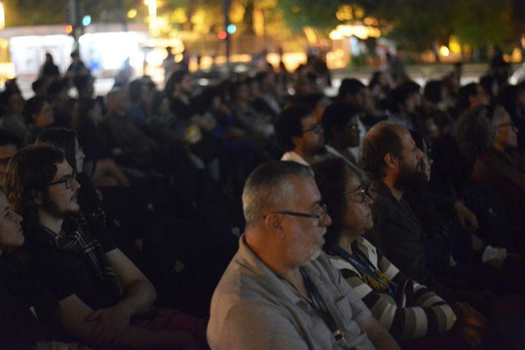 Vão Livre do Masp / Público nessão do filme Quando o Carnaval Chegar, de Cacá Diegues