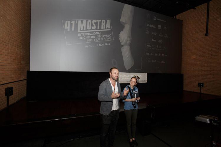 Circuito Spcine Paulo Emílio – CCSP / O diretor Dominik Locher apresenta seu filme Golias