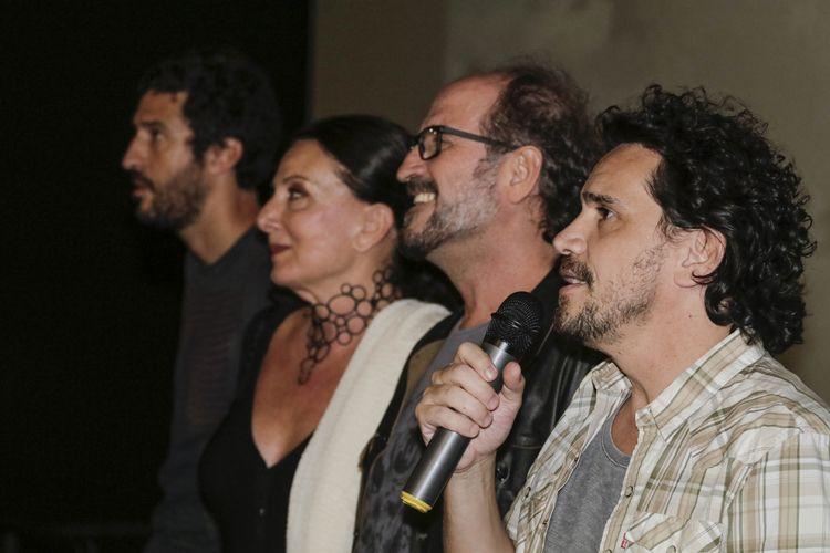Espaço Itaú de Cinema – Frei Caneca 2 / Johnny Araújo e Gustavo Bonafé, diretores do filme Legalize Já, e a equipe conversam com o público antes da sessão