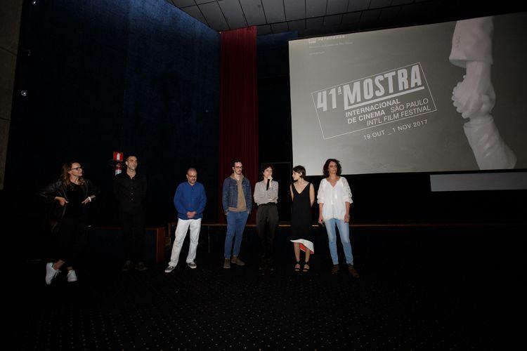 Cinearte 1 / Carolina Jabor (diretora) e a equipe do filme Aos Teus Olhos presentes na sessão