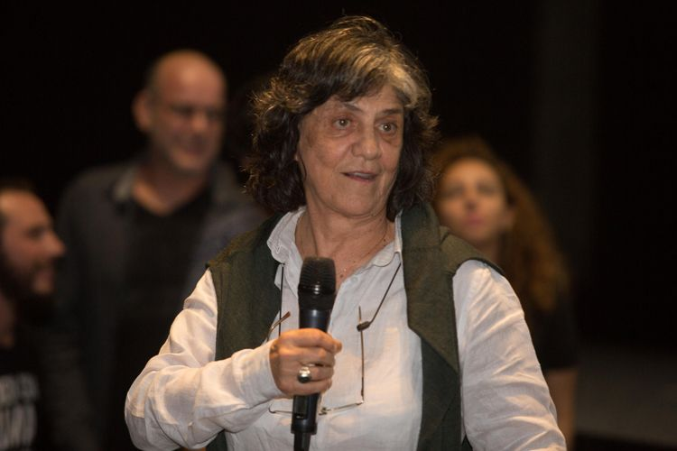 Cinesesc / Sara Silveira, produtora do filme As Boas Maneiras (de Juliana Rojas e Marco Dutra), presente na sessão