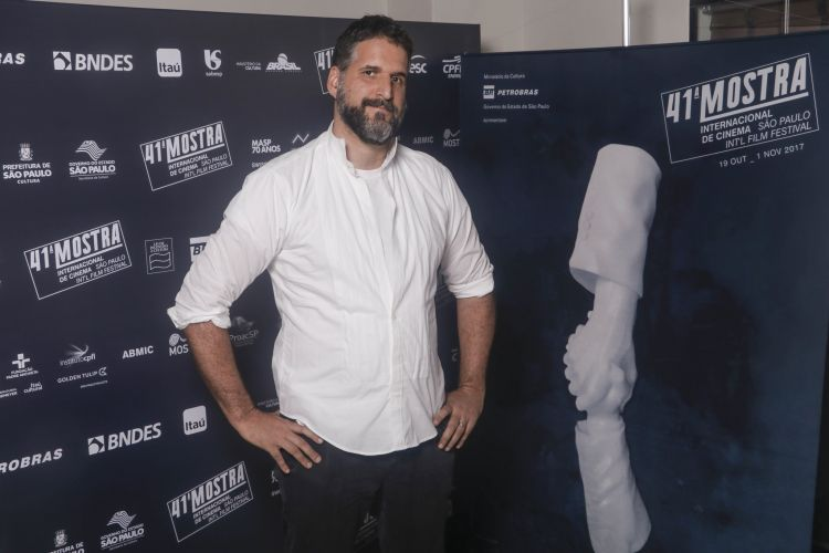 Rafael Terpins, diretor do filme Meu Tio e o Joelho de Porco