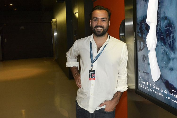 Martín Aliaga, produtor do filme Arpão, de Tom Espinoza