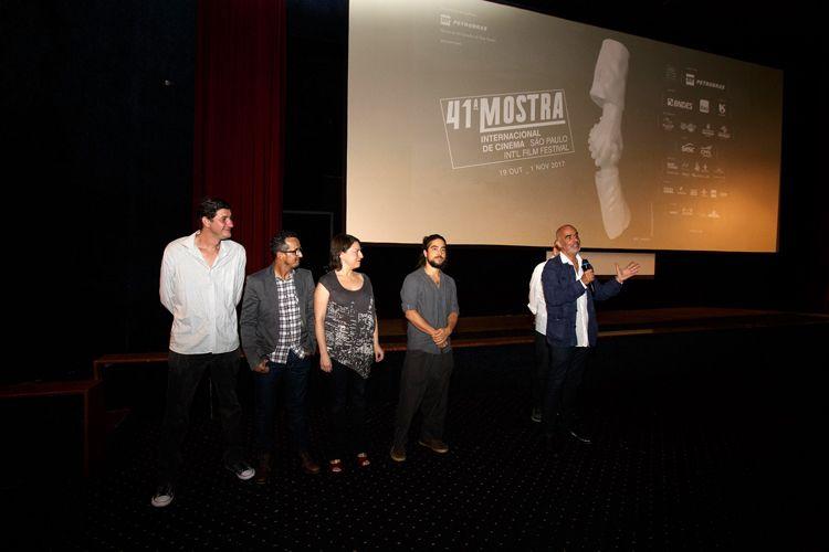 Cinearte 1 / Henrique Goldman, diretor de O Nome da Morte, apresenta a sessão ao lado da equipe do filme
