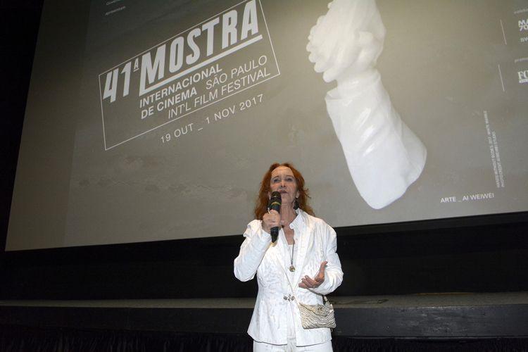 Cinesesc / Helena Ignez, diretora de A Moça do Calendário, apresenta a sessão de seu filme