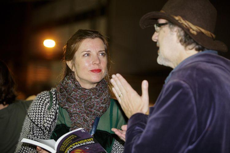 Ensaio da Escola de Samba Vai-Vai / Terje Toomistu (diretora de Hippies Soviéticos) e Dan Mirvish (diretor de Bernard e Huey)
