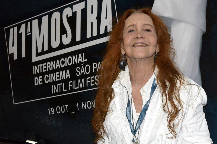 Helena Ignez, diretora do filme A Moça do Calendário