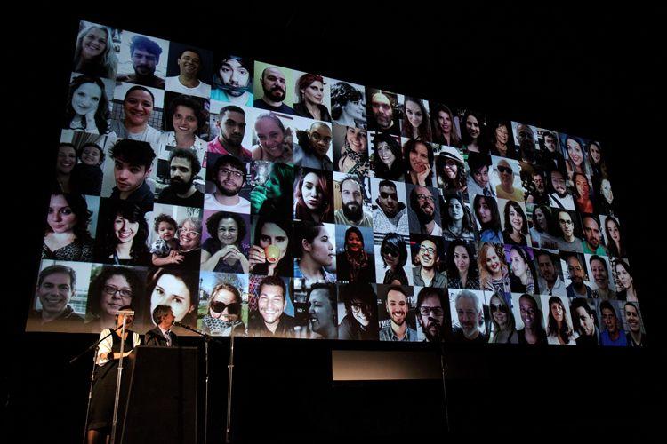 Cinearte 1 / Renata de Almeida e Serginho Groisman apresentam a equipe da 41ª Mostra