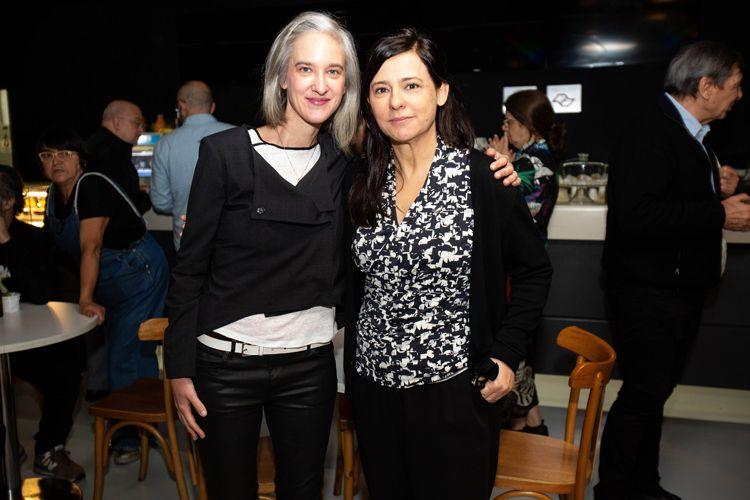 Espaço Itaú de Cinema - Augusta  / Renata de Almeida, Mostra Internacional de Cinema em São Paulo e Josephine Bourgois, diretora do Instituto Olga Rabinovich
