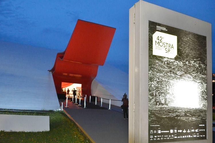 Auditório Ibirapuera /42ª Mostra Internacional de Cinema/São Paulo Int`l Film Festival - Cerimonia de Abertura