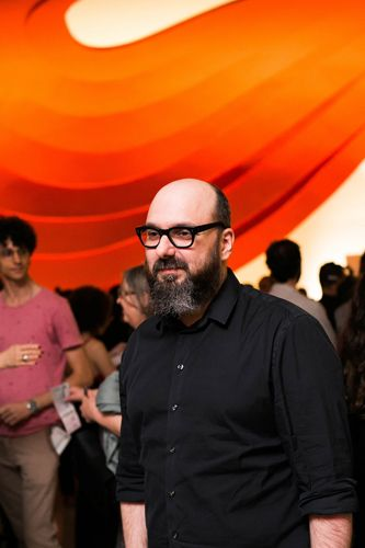 Auditório Ibirapuera /42ª Mostra Internacional de Cinema/São Paulo Int`l Film Festival - Cerimonia de Abertura - Felipe Hirsch