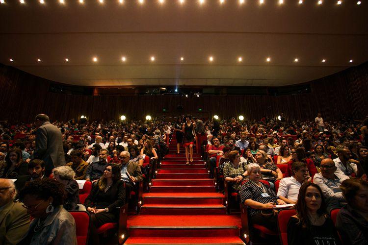 Auditório Ibirapuera /42ª Mostra Internacional de Cinema/São Paulo Int`l Film Festival - Cerimônia de Abertura