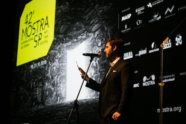 Auditório Ibirapuera /42ª Mostra Internacional de Cinema/São Paulo Int`l Film Festival - Cerimônia de Abertura  - Jorge Águedo De Jesus Peres De Oliveira Filho, Presidente Da Imprensa Oficial