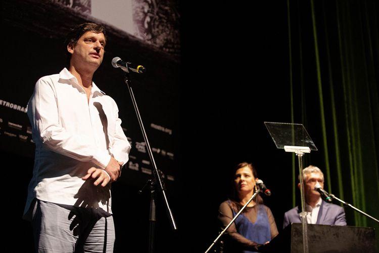 Auditório Ibirapuera /42ª Mostra Internacional de Cinema/São Paulo Int`l Film Festival - Cerimônia de Abertura - André Sturm, Secretário Municipal da Cultura
