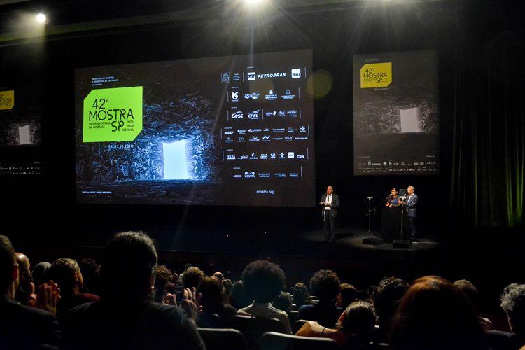 Auditório Ibirapuera /42ª Mostra Internacional de Cinema/São Paulo Int`l Film Festival - Cerimônia de Abertura - Romildo Capello, Secretário da Cultura do Estado de São Paulo