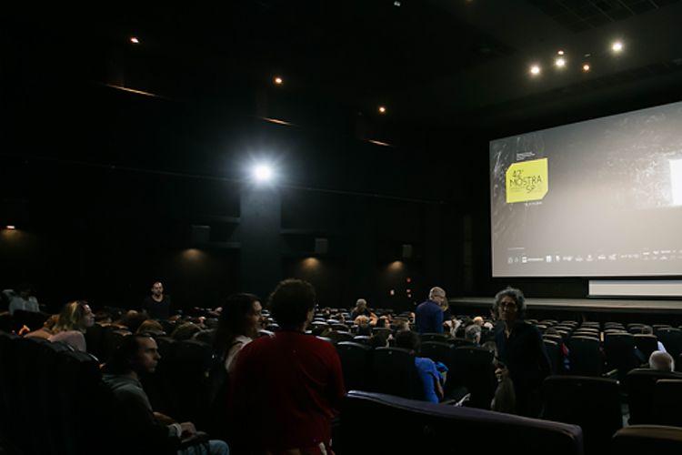 CineSesc/ 42ª Mostra Internacional de Cinema/São Paulo Int`l Film Festival - Apresentação do filme Com a Palavra, Arnaldo Antunes