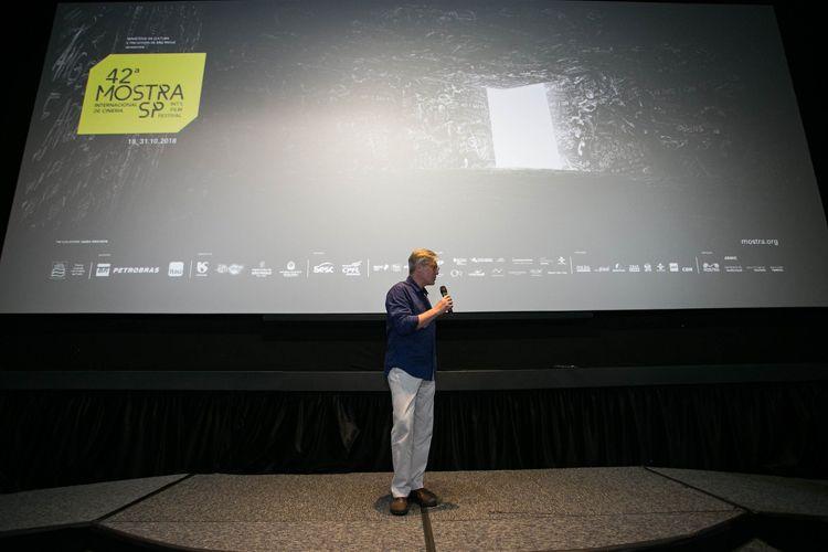 CineSesc/ 42ª Mostra Internacional de Cinema/São Paulo Int`l Film Festival - Marcelo Machado apresenta o filme Com a Palavra, Arnaldo Antunes