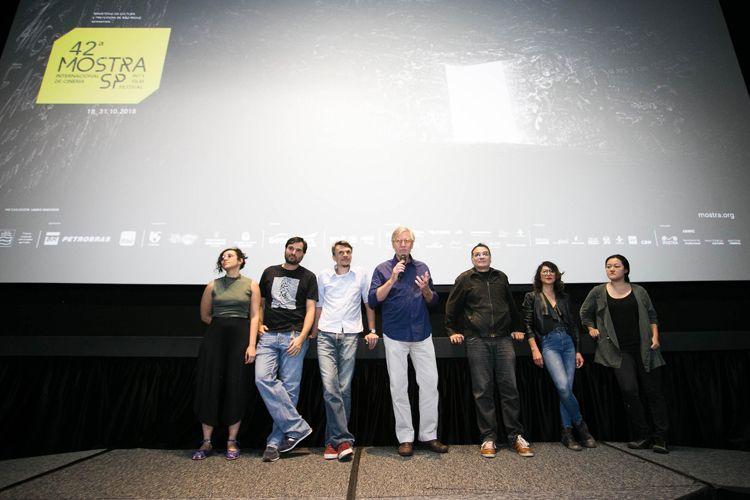 CineSesc/ 42ª Mostra Internacional de Cinema/São Paulo Int`l Film Festival - Apresentação do filme Com a Palavra, Arnaldo Antunes, com Marcelo Machado e equipe