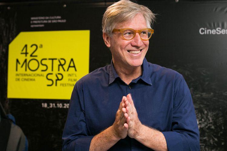 42ª Mostra Internacional de Cinema/São Paulo Int`l Film Festival - Marcelo Machado, diretor do filme Com a Palavra, Arnaldo Antunes