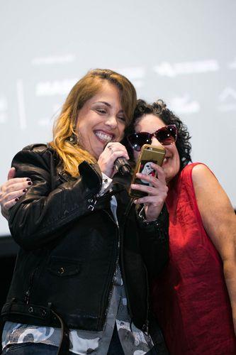 CineSesc/ 42ª Mostra Internacional de Cinema/São Paulo Int`l Film Festival - Apresentação do filme Sequestro Relâmpago - Rafaela Costa e Tata Amaral